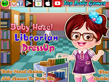 Baby Hazel Librarian Dress-Up