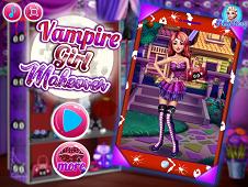 Vampire Girl Makeover