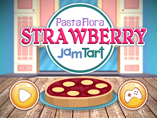 Pasta Flora Strawberry Jam Tart