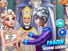 Frozen Wedding Ceremony