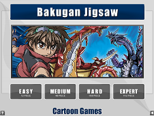 Bakugan Jigsaw