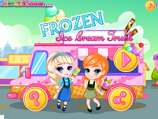 Frozen Ice Cream Truck