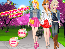 Princesses Spring Fashion