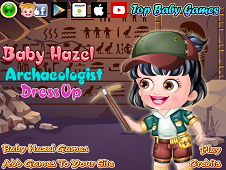 Baby Hazel Archaeologist Dress-Up