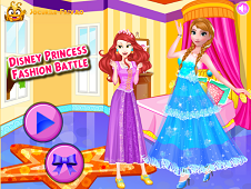 Dress up fashion battle