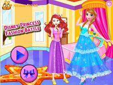 Disney Princesses Fashion Battle