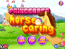 Princesses Horse Caring