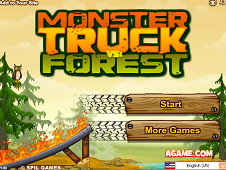 Monster Truck vs Forest