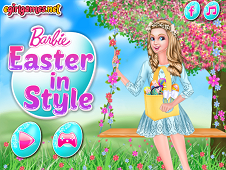 Barbie Easter In Style