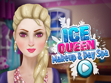 Ice Queen Makeup and Spa Day