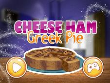 Cheese Ham Greek Pie