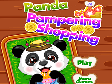 Panda Pampering Shopping
