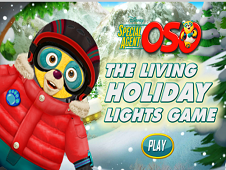 Special Agent Oso The Living Holiday Lights