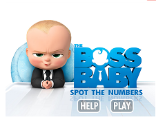 The Boss Baby Spot the Numbers