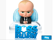 The Boss Baby Hidden Alphabets