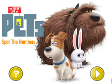 The Secret Life of Pets Spot the Number