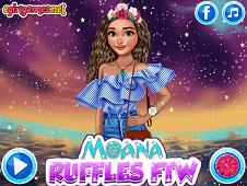 Moana Ruffles FTW