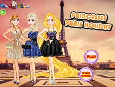 Princesses Paris Holiday