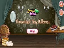 Throwback Tiny Ballerina