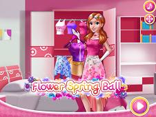 Flower Spring Ball