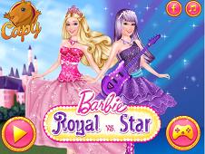 Barbie Royal Vs Star