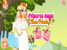 Princess Anna Boho Wedding