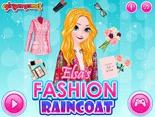 Elsas Fashion Raincoat