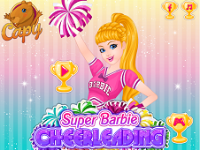 Super Barbie Cheerleading