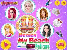 Design My Beach Pedicure