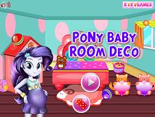 Pony Baby Room Decor