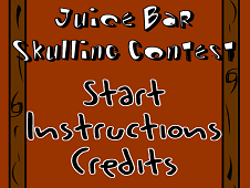 Bad Guys JuiceBar Skulling Contest
