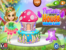 Fantasy House Design Cake