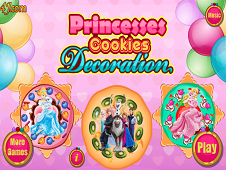 Princesses Cookies Decoration
