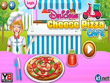 Delicious Cheese Pizza Cafe