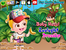 Baby Hazel Zoologist Dress Up