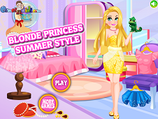 Blonde Princess Summer Style