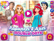 Rapunzel And Ariel Double Date