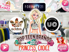 Top Teen Brands Princess Choice