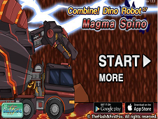 Dino Robot MagmaSpino