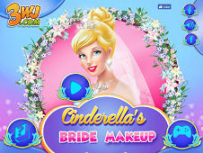 Cinderella Bride Makeup