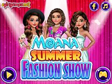 Moana Summer Fashion Show
