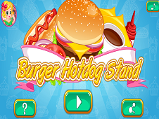 Burger and Hotdog Stand