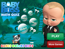 Boss Baby Math Quiz