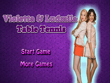 Violetta And Ludmila Table Tennis