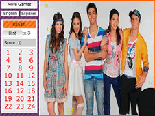 Violetta Hidden Numbers 2