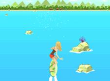 Violetta Surfing
