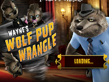 Waynes Wolf Pup Wrangle