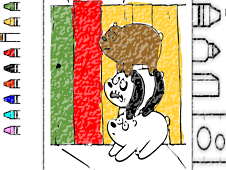 We Bare Bears Coloring