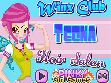 Winx Club Tecna Hair Salon