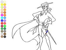 Zorro Chronicles Coloring